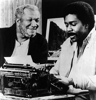 Fred and Lamont share a - Sanford and Son Picture