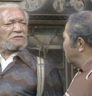 Fred Sanford questions Bubba Bexley - Sanford and Son Picture