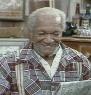 Fred Sanford smiles as he - Sanford and Son Picture
