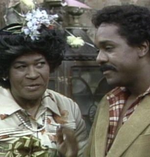 Aunt Esther talks with Lamont - Sanford and Son Picture