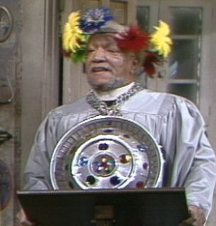 Fred Redd Foxx addresses the - Sanford and Son Picture