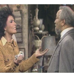 Lena Horne complains to Fred - Sanford and Son Picture