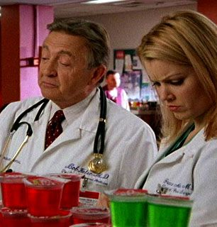 Turk and Carla get hot - Scrubs Picture