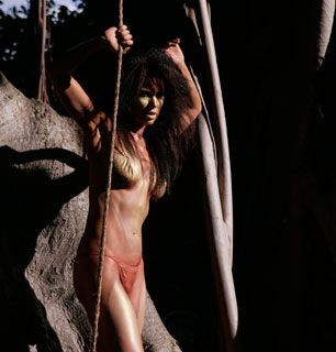 LeeAnne does her best cavegirl - She's Got The Look Picture