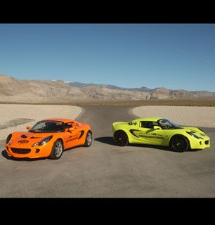 Sports cars in the desert - The Cougar Picture