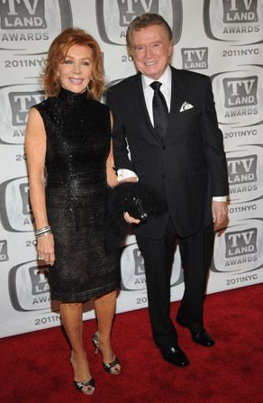 Regis Philbin and his wife - TV Land Awards Picture