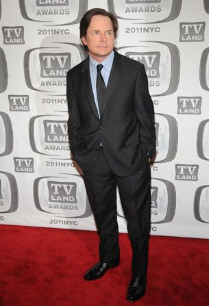 Michael J Fox poses for - TV Land Awards Picture