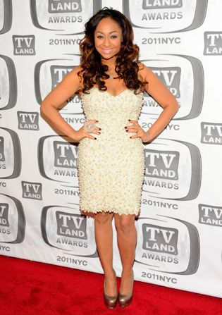 Raven Symone who played Olivia - TV Land Awards Picture