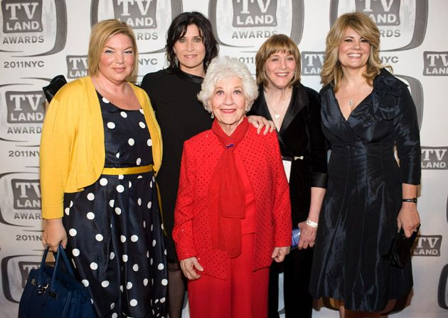 Mindy Cohn Nancy McKeon Charlotte - TV Land Awards Picture