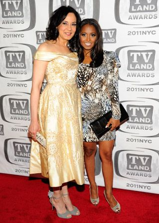 Keshia Knight Pulliam right and - TV Land Awards Picture