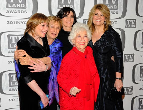 Geri Jewell Cloris Leachman Nancy - TV Land Awards Picture
